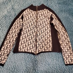 John Galliano for Christian Dior sweater jacket